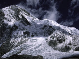 Glacier on the Southside of Everest, Nepal Photographic Print by Michael Brown