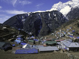 Mountain Village, Nepal Photographic Print by Michael Brown