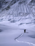 Mountaineering Everest, Nepal Photographic Print by Michael Brown