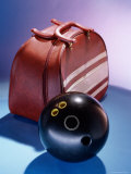 Bowling Ball and a Bag Photographic Print