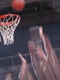 Basketball Action Shot Photographic Print