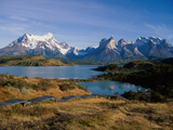 Lake Tahoe, Torres Del Paine National Park, Chile Photographic Print