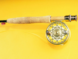 Fishing Rod and a Reel Photographic Print