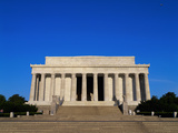 Lincoln Memorial, Washington, D.C., USA Lámina fotográfica