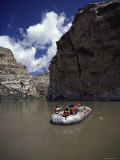 Canyon Rafting Excursion Photographic Print