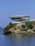 Contemporary Art Museum, Niteroi, Brazil Photographic Print