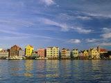 Handelskade, Willemstad, Curacao Photographic Print