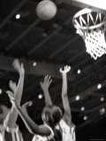 Women Playing Basketball Photographic Print
