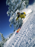 An Accomplished Skier Photographic Print