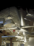 Industrial Steel Ductwork Photographic Print