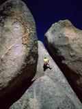Rockclimber Photographic Print