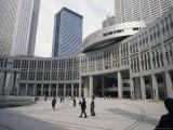 Tokyo Metropolitan Government Building Complex, Tokyo, Japan Photographic Print