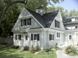 Traditional Home Exterior Photographic Print