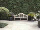 Garden Bench Photographic Print