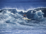 Surfer Surfing Photographic Print