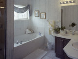 Bathroom with Two Sinks Photographic Print