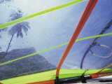 Close-up Image of a Windsurfing Sail Photographic Print