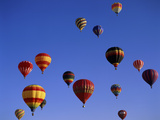 Kodak Albuquerque International Balloon Fiesta New Mexico USA Photographic Print