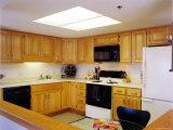 Interior of a Domestic Kitchen Photographic Print