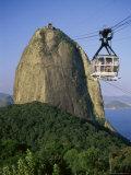 Sugar Loaf Mountain, Rio de Janeiro, Brazil Photographic Print