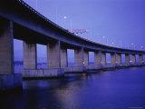 Rio-Niteroi Bridge, Rio de Janeiro, Brazil Photographic Print