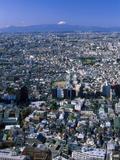 Mount Fuji Tokyo Japan Photographic Print