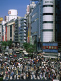Shibuya Tokyo Japan Photographic Print