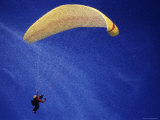 Computer Altered Image of a Parachutist Photographic Print