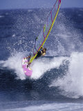 Windsurfer on a Wave Photographic Print
