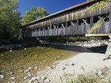Albany Bridge, New Hampshire, USA Photographic Print