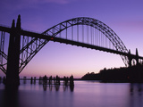 Yaquina Bay Bridge, Newport, Oregon, USA Photographic Print