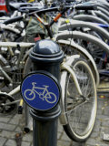 Bicycle Parking Area Photographic Print