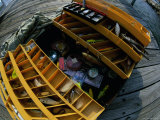 High Angle View of a Fishing Tackle Box Photographic Print
