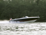 Speedboat on Water Photographic Print