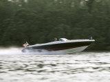 Speedboat on Water Photographic Print