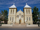 San Albino Church, Las Cruces, New Mexico, USA Photographic Print