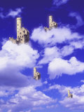 Castles in the Clouds Photographic Print