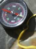 Close-up of a Compass Photographic Print