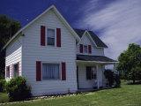 Farm House 1880, Michigan, USA Photographic Print