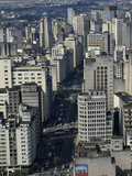 Business District, Sao Paulo, Brazil Photographic Print