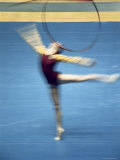 Gymnast Doing Floor Work Photographic Print