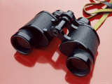 Binoculars with Reflection Photographic Print