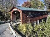 Covered Bridge Photographic Print