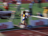 Crossing the Finish Line Photographic Print