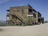 Goldfield Ghost Town, Apache Junction, Arizona, USA Photographic Print
