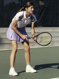 Joueuse de tennis Photographie