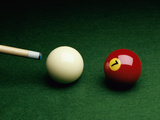 Billiards Still Life Photographic Print