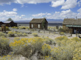 Berlin Ghost Town, Berlin-Ichthyosaur State Park, Nevada, USA Photographic Print