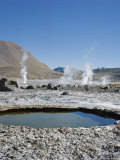 Geysers Del Tatio, Chile Photographic Print