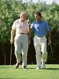 Golfing Companions Photographic Print
